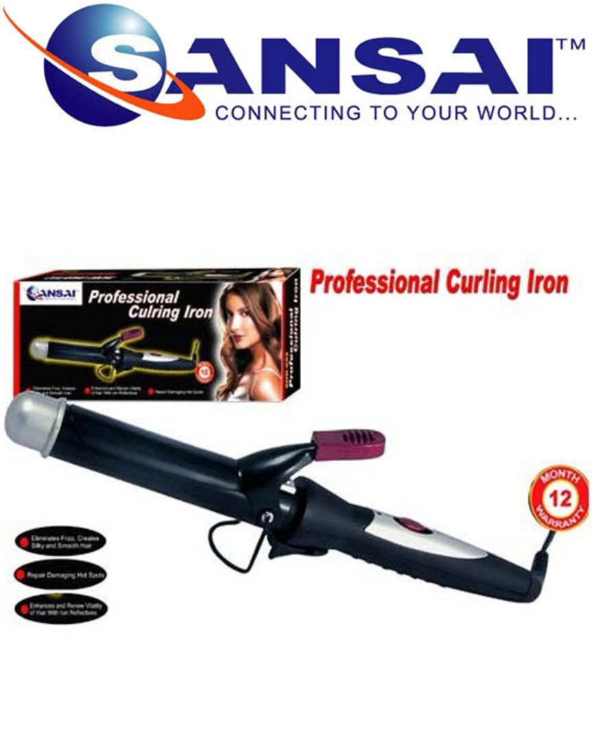 Sansai Hair care Professional Hair Curling Iron image 0